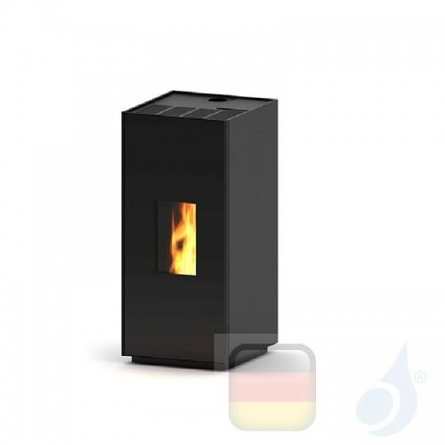 Ravelli Pelletofen Square 9 8.1 kW WiFi Beschichtungstyp metal Schwarz A+ Ravelli-80014ER01-BLK