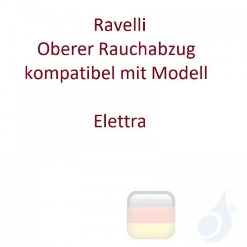 Ravelli Oberer Rauchabzug kompatibel mit Modell Elettra Artikelnummer D080C045 Ravelli-D080C045