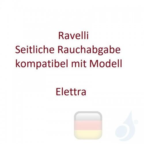 Ravelli Seitliche Rauchabgabe kompatibel mit Modell Elettra Artikelnummer D080C90 Ravelli-D080C90