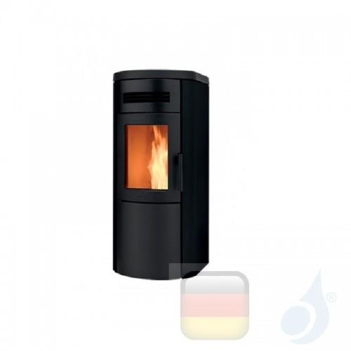 Ravelli Pelletofen Dual 9 8.3 kW Beschichtungstyp metal Schwarz A+ Belüftet Ravelli-017-00-001A-BLK