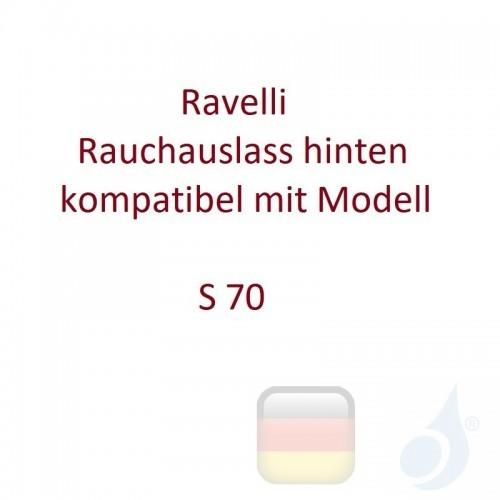 Ravelli Rauchauslass hinten kompatibel mit Modell S 70 Artikelnummer K0050AR00 Ravelli-K0050AR00