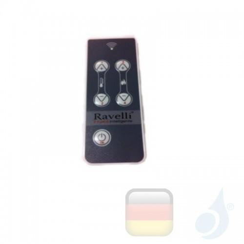 Ravelli 5-Tasten-RDS-Fernbedienung kompatibel mit Modell R 70 Artikelnummer 55263 Ravelli-55263