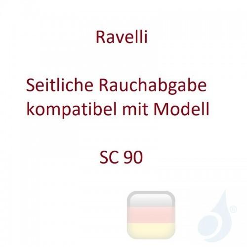 Ravelli Seitliche Rauchabgabe kompatibel mit Modell SC 90 Artikelnummer K0053AR00 Ravelli-K0053AR00