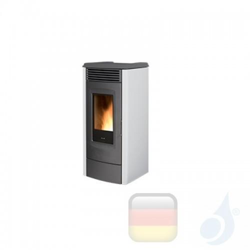 Ravelli Pelletofen RC 120 TOUCH 11.1 kW Beschichtungstyp metal Weiß A+ Ductable Ravelli-073-00-001A-BCO