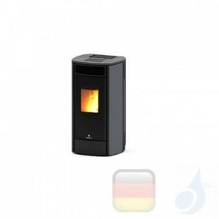 Ravelli Pelletofen SPHERE C STEEL 10.8 kW Beschichtungstyp metal Grau A+ Ductable Ravelli-30013HR01-GRM