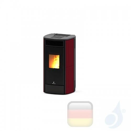 Ravelli Pelletofen SPHERE C Ceramica 10.8 kW Beschichtungstyp keramic Bordeaux A+ Ductable Ravelli-30018HR03-BDX