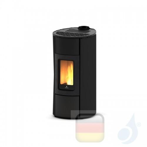 Ravelli Pelletofen Flexi 11 Glass 10.2 kW WiFi Beschichtungstyp glass Schwarz A++ Ductable Belüftet Natürliche Konvektion Rav...