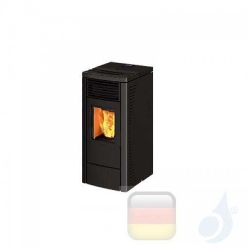 Ravelli Pelletofen R 70 6.4 kW Beschichtungstyp keramic Anthrazit A+ Belüftet Ravelli-014-00-001A-ANC+55263