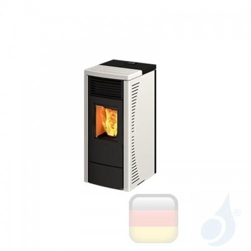Ravelli Pelletofen R 70 6.4 kW Beschichtungstyp keramic Weiß A+ Belüftet Ravelli-014-00-001A-BCO+55263