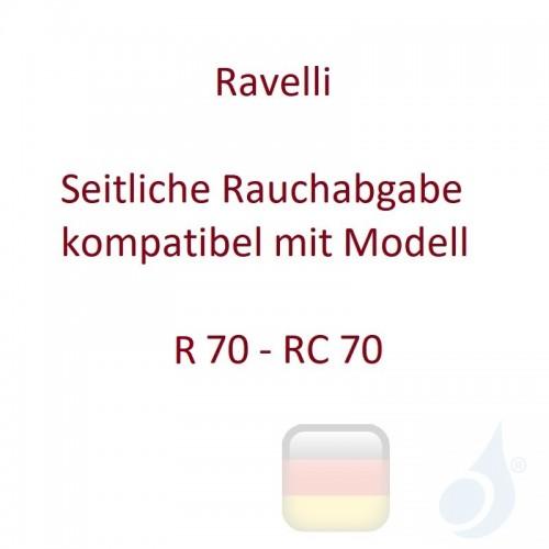 Ravelli Seitliche Rauchabgabe kompatibel mit Modell R 70 - RC 70 Artikelnummer 014-66-017N Ravelli-014-66-017N