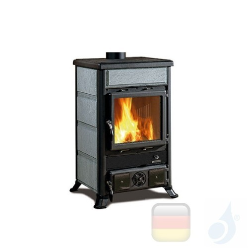 La Nordica Holzöfen Rossella R1 Bll 8.8 kW Naturstein Stein serie Rossella 7112152 A Extraflame Nord-Extra-7112152