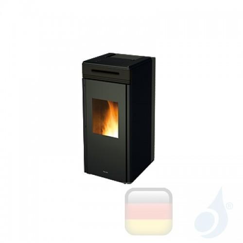 Ravelli Hydro Pelletofen HRV 100 TOUCH 10.1 kW Beschichtungstyp keramic Schwarz A+ Ravelli-039-00-001A-BLK