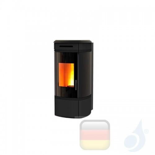 Ravelli Hydro Pelletofen HRV 100 GLOBE 10.1 kW Beschichtungstyp keramic Schwarz A+ Ravelli-137-00-0017-BLK