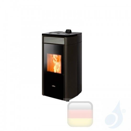 Ravelli Hydro Pelletofen HRV 120 PLUS 10 kW Beschichtungstyp keramic Schwarz A+ Ravelli-130-00-015A-BLK