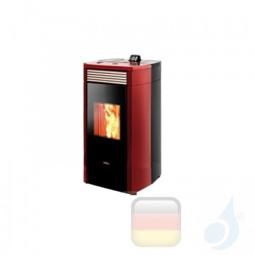 Ravelli Hydro Pelletofen HRV 120 PLUS 10 kW Beschichtungstyp keramic Bordeaux A+ Ravelli-130-00-015A-BDX
