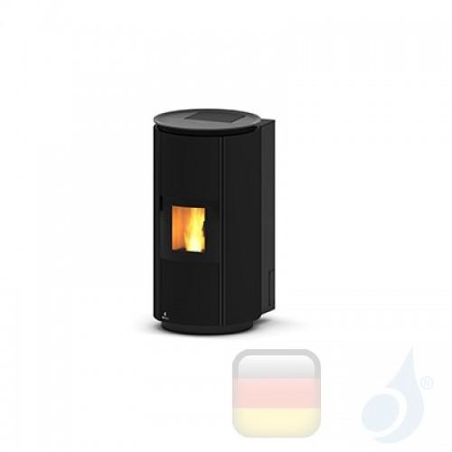 Ravelli Hydro Pelletofen HRV 160 DESIGN 16.2 kW WiFi Beschichtungstyp keramic Schwarz A++ Ravelli-40013LR02-BLK