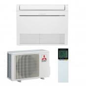 Mitsubishi Electric Klimaanlagen Mono Split R410A 9000 BTU Serie MFZ-KJ25VE+MUFZ-KJ25VE weiss 2,5 KW inverter Wärmepumpe