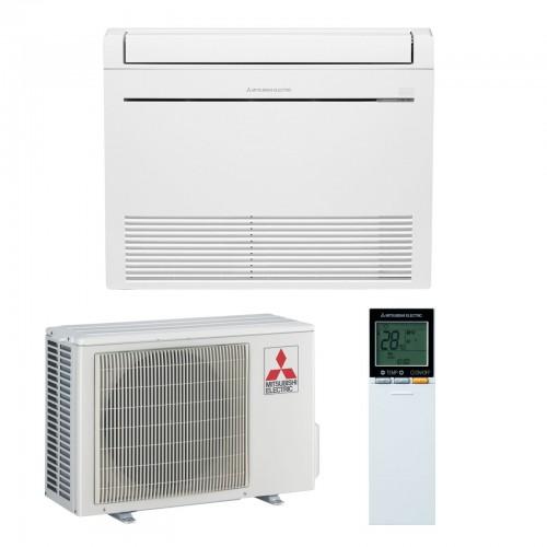 Mitsubishi Electric Klimaanlagen Mono Split R410A 9000 BTU Serie MFZ-KJ25VE+MUFZ-KJ25VE weiss 2,5 KW inverter Wärmepumpe MFZ-...
