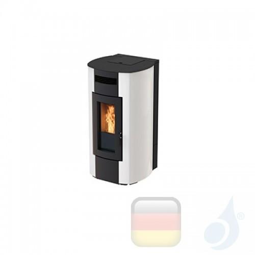 Ravelli Hydro Pelletofen HRV 200 GLASS 20.6 kW Beschichtungstyp glass Weiß A++ Ravelli-40006QR00-BCO