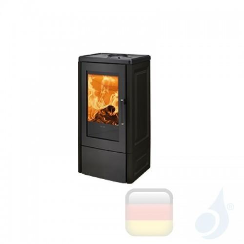 Ravelli Holzofen ALBA 8.5 kW Beschichtungstyp keramic Schwarz A+ Ravelli-L22-KIT-BLK