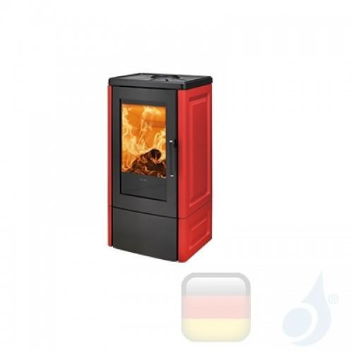 Ravelli Holzofen ALBA 8.5 kW Beschichtungstyp keramic Bordeaux A+ Ravelli-L22-KIT-BDX
