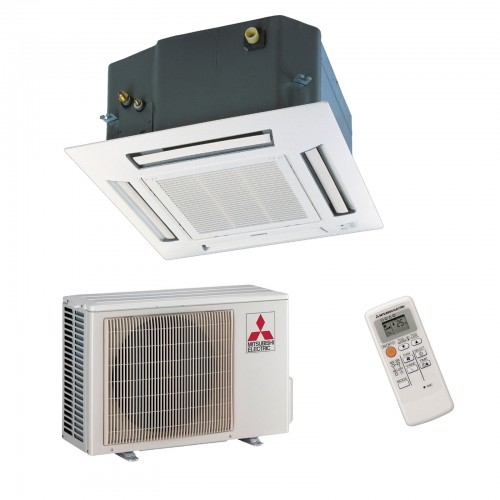 Mitsubishi Electric Klimaanlagen Mono Split R410A 12000 BTU Serie SLZ-KF35VA+SUZ-KA35VA 3,5 KW inverter Wärmepumpe SLZ-KF35VA...