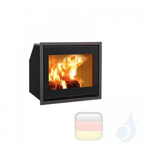 Ravelli Holzkamin Einsteckbar ERCOLE 8 kW Beschichtungstyp glass Schwarz A+ Ravelli-D0003BC00-BLK