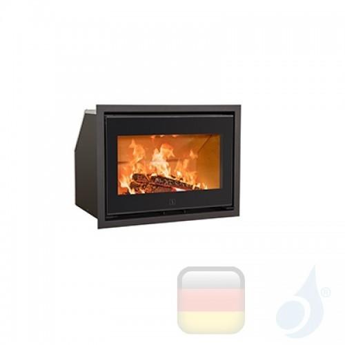 Ravelli Holzkamin Einsteckbar CHRONOS 6.5 kW Beschichtungstyp glass Schwarz A+ Ravelli-D0001DC00-BLK