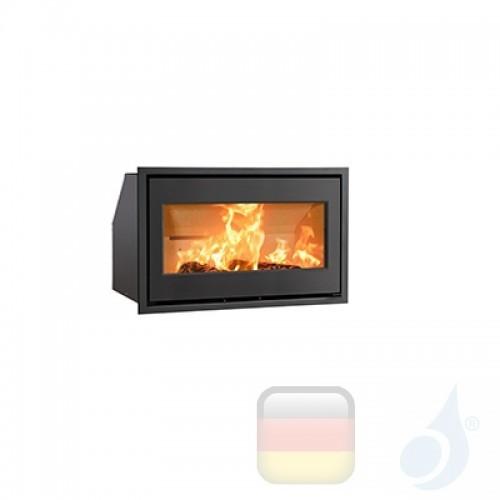Ravelli Holzkamin Einsteckbar ZEUS 7 kW Beschichtungstyp glass Schwarz A+ Ravelli-D0002EC00-BLK