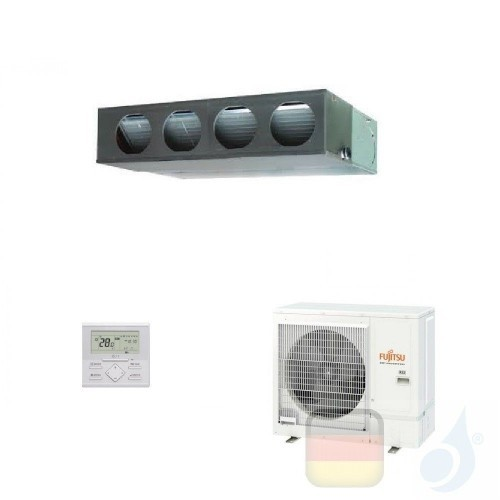 Fujitsu Klimaanlage 36000 Btu Kanaleinbaugeräte ECO KM ARXG36KMLA AOYG36KATA 3NGF89145 R-32 220v ARXG36KMLA+AOYG36KATA