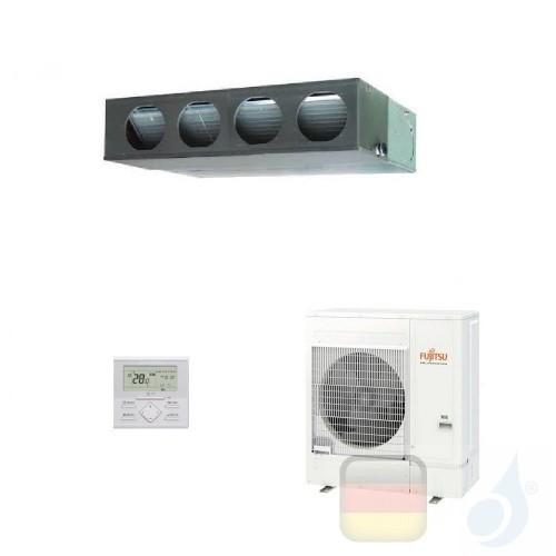 Fujitsu Klimaanlage 45000 Btu Kanaleinbaugeräte ECO KM ARXG45KMLA AOYG45KQTA 3NGF89160 R-32 380v ARXG45KMLA+AOYG45KQTA
