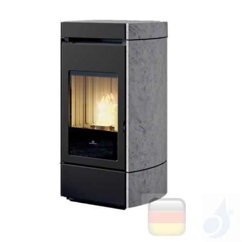 Edilkamin Pelletofen Lena Plus 9.2 kW Ductable WiFi Stein Beschichtungstyp naturstein A+ EdilK-811000
