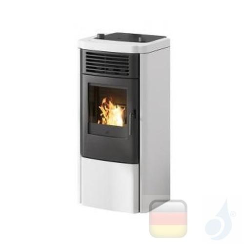 Edilkamin Pelletofen Klik 8.3 kW Weiß Beschichtungstyp keramic A+ EdilK-807160
