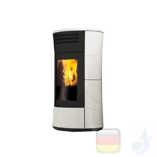 Edilkamin Pelletofen Cherie Up 11.2 kW Ductable Salt and pepper Beschichtungstyp keramic A+ EdilK-805670