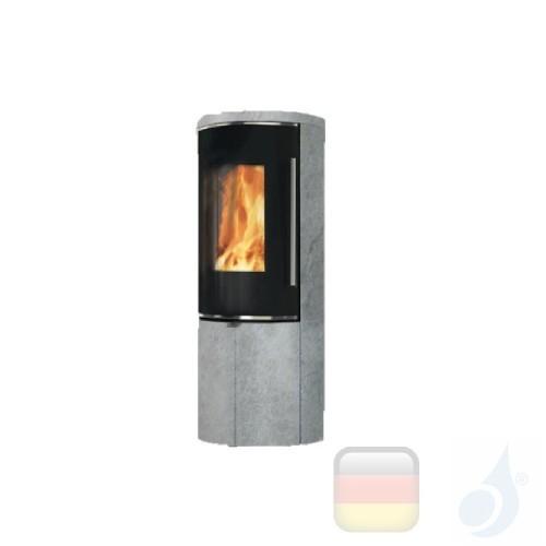 Edilkamin Holzofen Tally 8 Up 8.0 kW Stein Beschichtungstyp naturstein A+ EdilK-808370