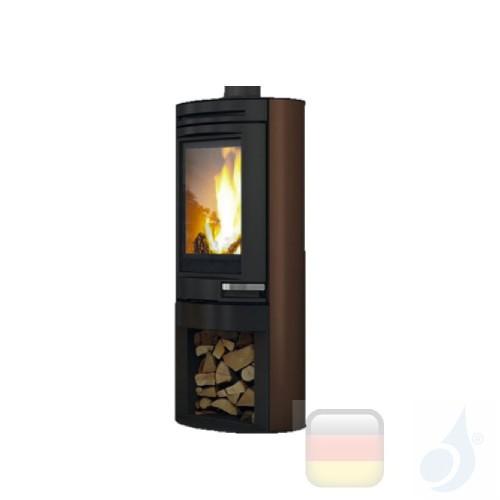 Edilkamin Holzofen Tally 8 8.0 kW Bronze Beschichtungstyp stahl A+ EdilK-808400