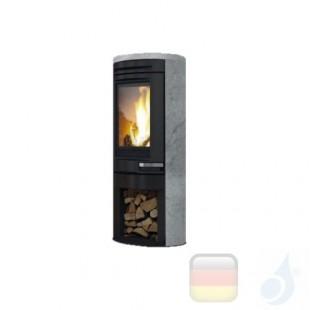 Edilkamin Holzofen Tally 8 8.0 kW Stein Beschichtungstyp naturstein A+ EdilK-808410