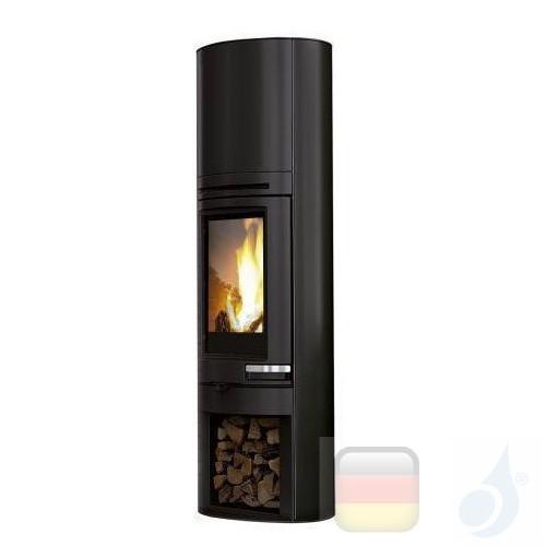 Edilkamin Holzofen Tally 8 s 8.0 kW Schwarz Beschichtungstyp stahl A+ EdilK-808460