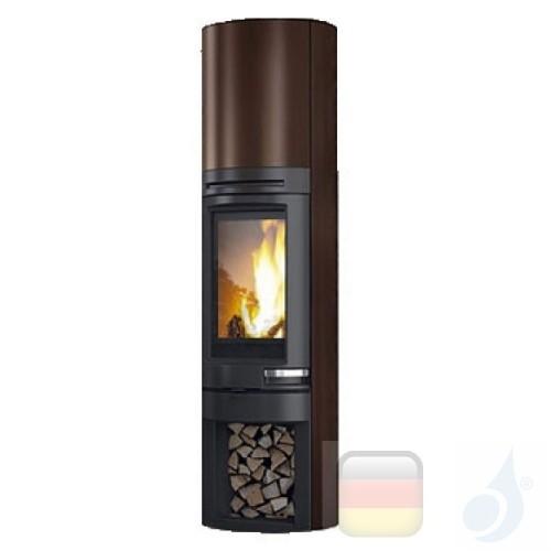 Edilkamin Holzofen Tally 8 s 8.0 kW Bronze Beschichtungstyp stahl A+ EdilK-808480