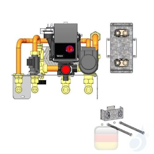 Edilkamin Einbausatz Meg Più Kit RWS2 Produktcode: 1013570 EdilK-1013570
