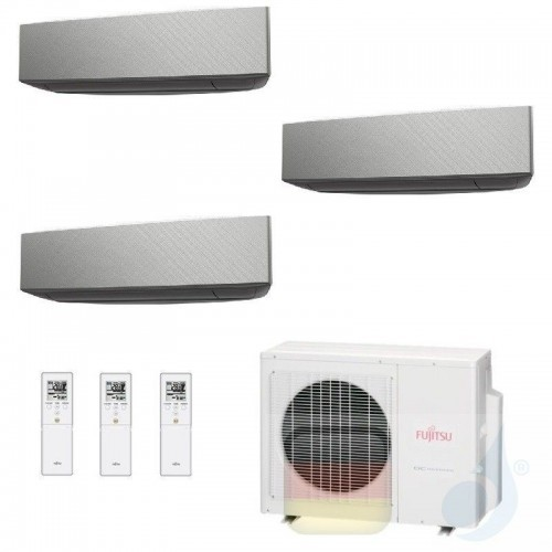Fujitsu Klimaanlage Trio Split 7+9+9 AOYG18KBTA3 ASYG07KETA-B ASYG09KETA-B ASYG09KETA-B R-32 2.0+2.5+2.5 kW 7000+9000+9000 AS...