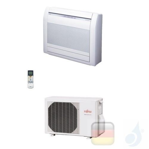 Fujitsu Mono Split 15000 Btu 4.2 kW AGYG14KVCA AOYG14KVCA Klimaanlage Fußboden Weiß KV WiFi Optional A++ A+ R-32 AGYG14KVCA+A...