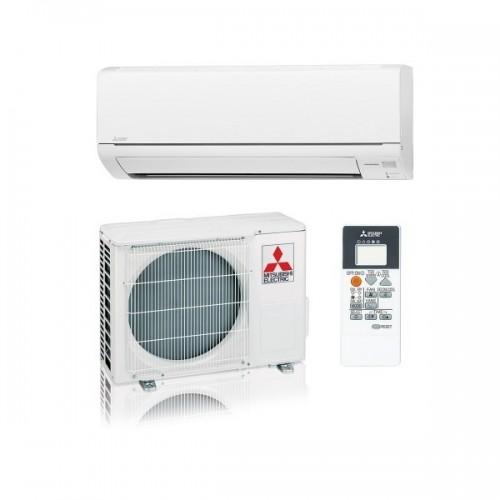 Mitsubishi Electric Klimaanlagen Mono Split R410A 9000 BTU Serie Smart MSZ-DM25VA+MUZ-DM25VA weiss 2,5 KW inverter Wärmepumpe