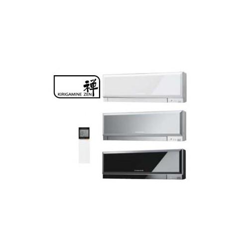 Inneneinheit Klimageräte Mitsubishi 9000 BTU Serie Kirigamine Zen 2,5 KW MSZ-EF25VG weiss silber schwarz inverter Wärmepumpen
