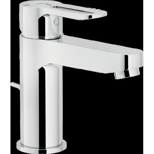 Nobili Rubinetterie Badarmaturen Nobili Serie NEW ROAD Einhand-Waschtischmischer Eco Mit Ablaufgarnitur Rd00118