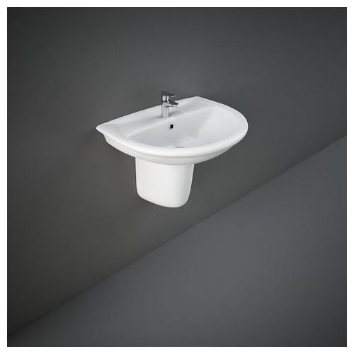 Rak Ceramics Waschbecken - Bidets Halbsockel Rak-Karla 485 X 600 Mm KAPD00002