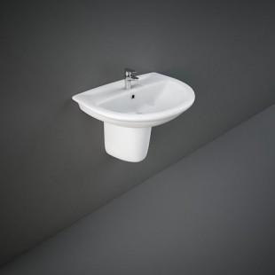Rak Ceramics Waschbecken - Bidets Halbsockel Rak-Karla 440 X 550 Mm KAPD00002